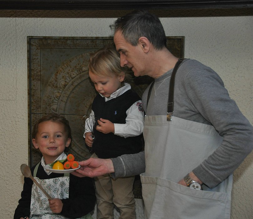 kok en kinderen